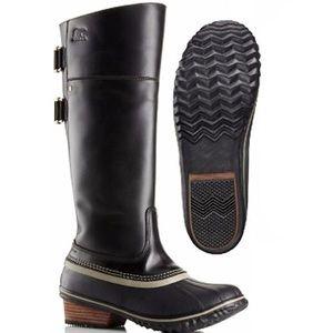 Sorel Women's Leather Boots - Women's Size 7.5